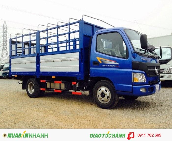 Xe tải thaco, xe tải 5 tấn, Thaco Ollin500B nâng tải 5 tấn, thaco ollin345 nâng tải 7 tấn, Cập nhật báo giá Xe tải 8 tấn, 9 tấn Trường Hải trong tháng 4/2016