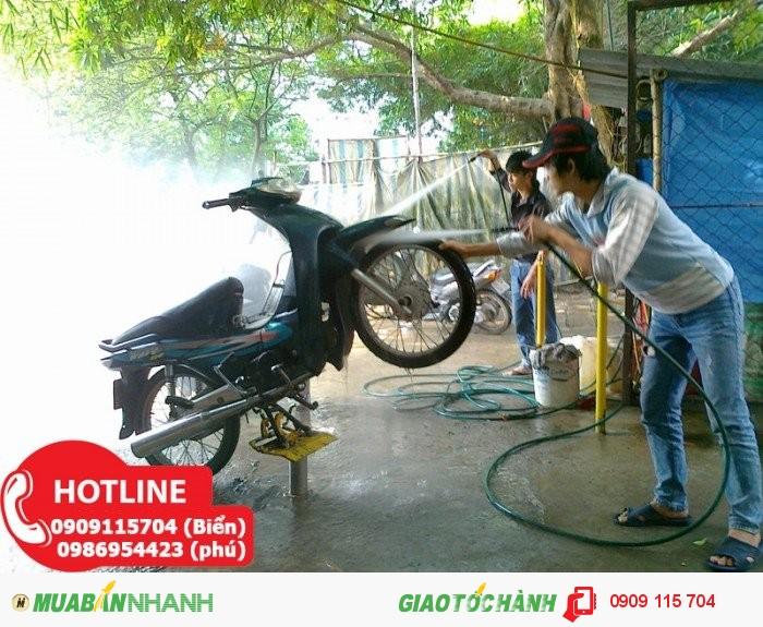 Mở Tiệm Rửa Xe Máy Chuyên Nghiệp Với 20 Triệu Đồng