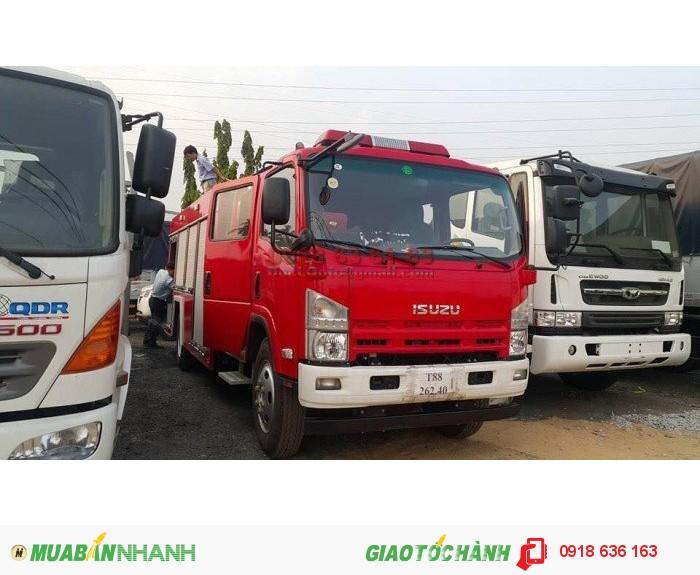 Xe cứu hỏa Isuzu nhập khẩu 100% chuyên dùng chữa cháy