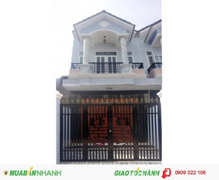 Nhà mới sổ hồng riêng Nguyễn Oanh Gò Vấp. DT: 120m2 - Giá 1.3 tỷ. đúc 1 trệt 1 lầu. Đường nhựa 8m
