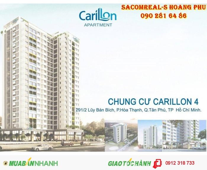 Mở bán Carillon 4 trung tâm quận Tân Phú.