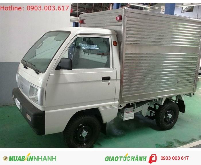 Suzuki Carry Truck 650kg Thùng Kín, Đại Lý Suzuki Chính Hãng