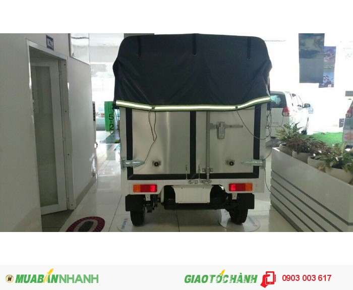 Xe tải Suzuki 500kg thùng mui bạt, Bán xe trả góp 2