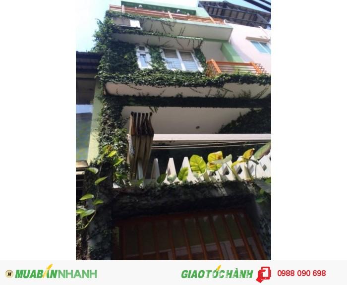 Bán nhà hẻm Thích Quảng Đức Phường 5 Quận Phú Nhuận. DT 4x9