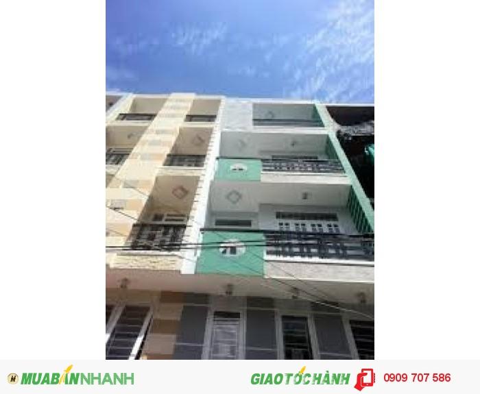 Bán nhà MT Hoa Sứ, Phú Nhuận 4x15m, 3 lầu, đang cho thuê giá cao.