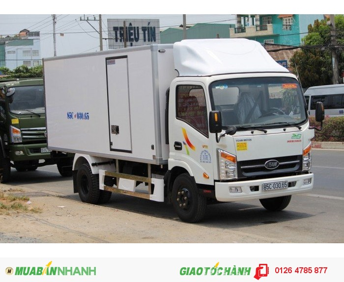 Bán xe tải veam 3.5 tấn vt350 được vào thành phố, giá rẻ