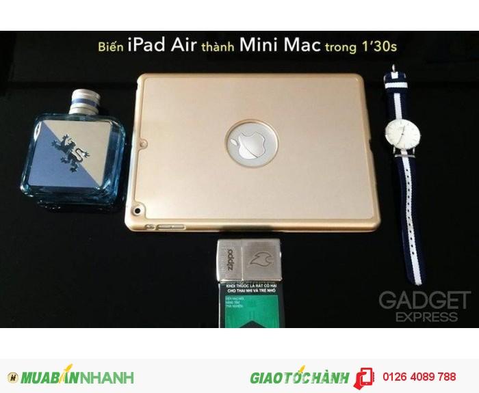 Chưa đến 1'30s là có thể phù phép chiếc ipad air của bạn trở thành 1 em mini macbook ngon lành1