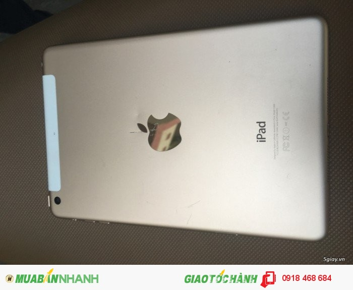 Ipad mini3 gold có 3g