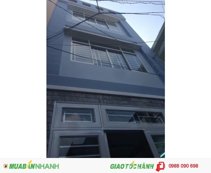 Bán nhà mặt tiền Phan Xích Long, P3,Phú Nhuận.DT 3,2x17,3m(Nở hậu 3,9m)