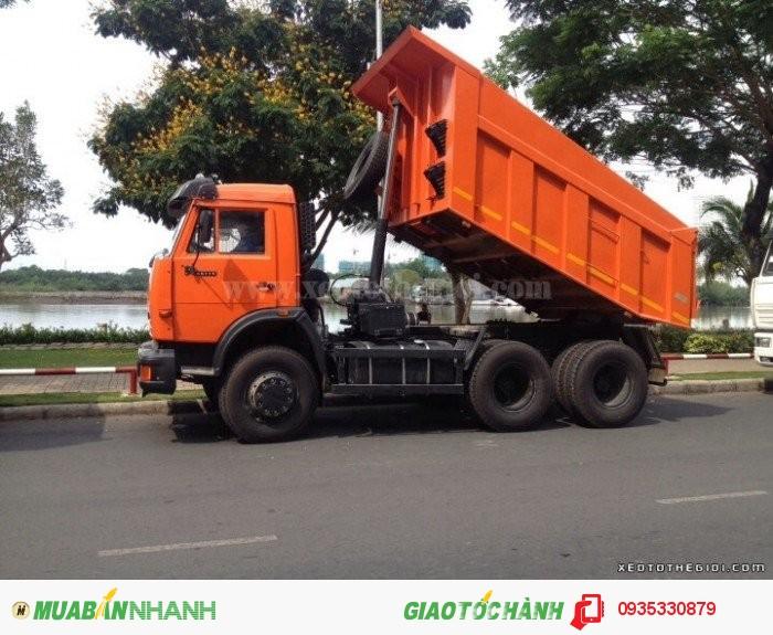Bán xe tải ben Kamaz 65115 -15 tấn,Đại lý bán xe tải Kamaz trả góp hỗ trợ 80%