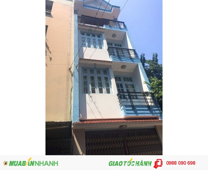 Bán gấp nhà HXH thẳng 8m Bùi Thị Xuân, P.1, Tân Bình. DT 4x21m, hướng Đông Bắc,