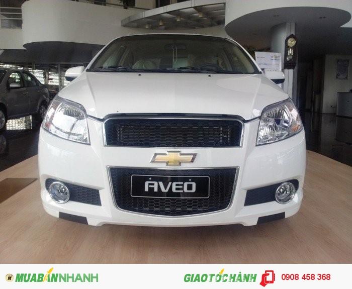 Bán xe Chevrolet AVEO 2016, vay 100%, tháng 7 khuyến mãi khủng, giao ngay 0