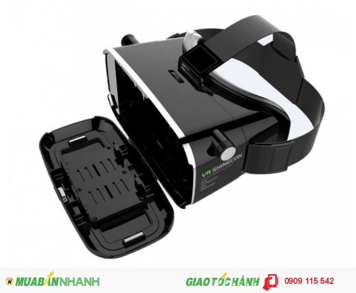 - Xem phim 2D, 3D trên màn hình 200 inches, chơi game 3D chuyên dụng cho kính thực tế ảo Mobile VR