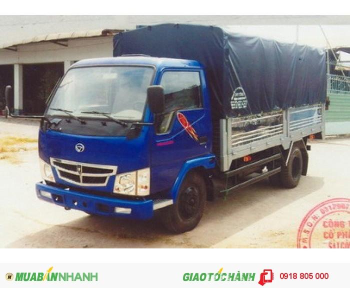 Vinaxuki 990T sản xuất năm 2012 Số tay (số sàn) Xe tải động cơ Dầu diesel