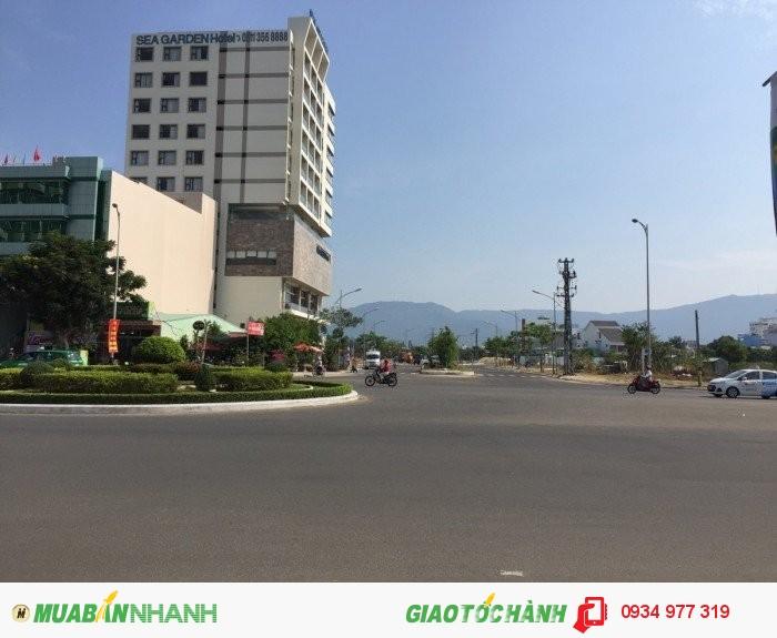 Bán đất cạnh khách sạn Sea Garden và Như Minh gần bãi biển Phạm Văn Đồng.
