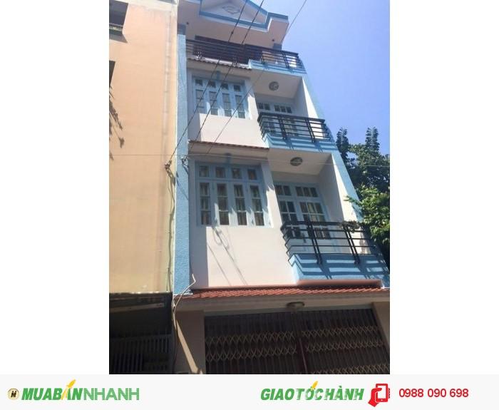 Bán gấp nhà HXH thẳng 8m Bùi Thị Xuân, P.1, Tân Bình. DT 4x21m