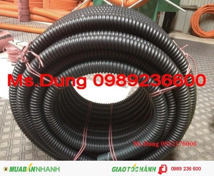 Ống Ruột Gà Lõi Thép Luồn Dây Điện - Miễn phí giao hàng tại Hà Nội