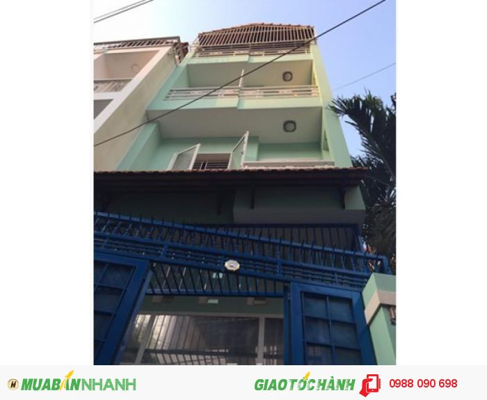 Bán nhà HXH Phan Đăng Lưu, P1, Q Phú Nhuận. DT 3,95x11,5m