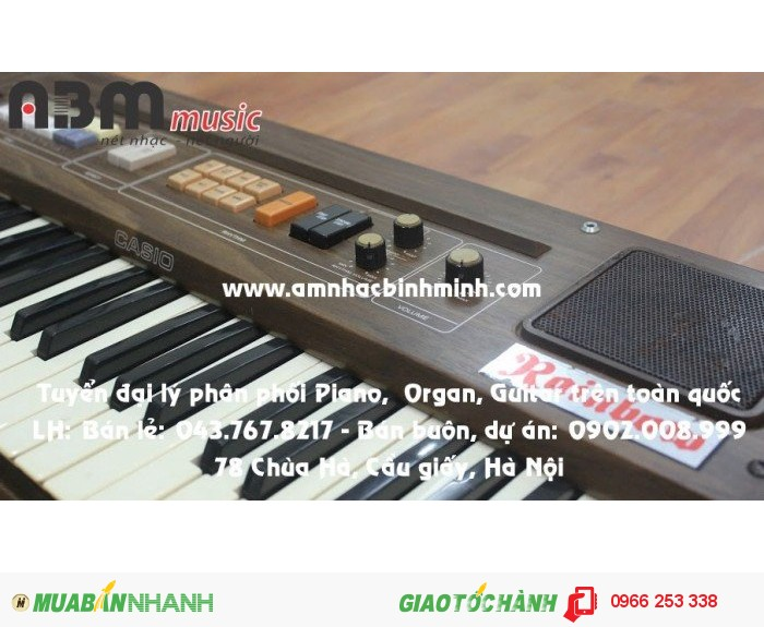 Đàn Organ Cassio Rain Bow giá 500.000 vnđ4