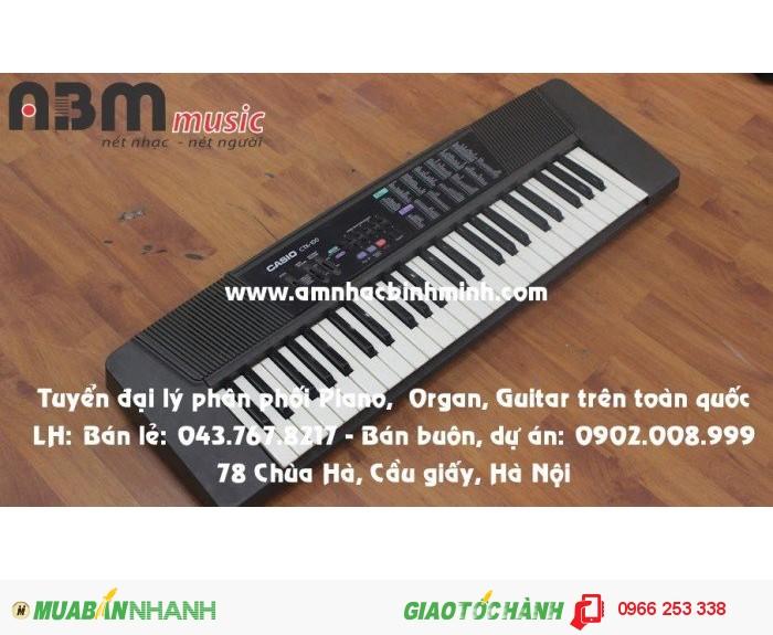 Đàn Organ Casio CTK100 giá 600.000 vnđ2