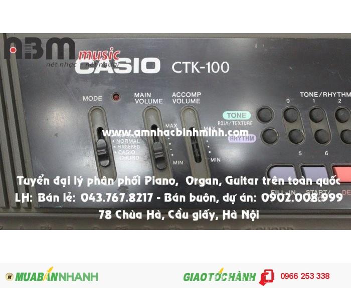Đàn Organ Casio CTK100 giá 600.000 vnđ4