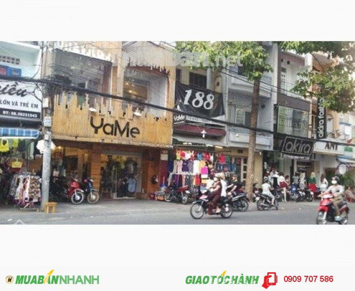Bán nhà mặt tiền đường Nguyễn Tri Phương, P.5, Q.10, 5x13m, 15,5 tỷ.