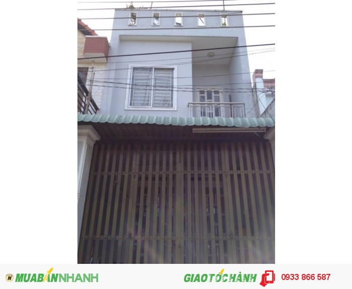 Bán Nhà 1 Lầu Dt(4x9)M,Giá 1.05tỷ, Đường Hẻm 130(Lê Đình Cẩn)