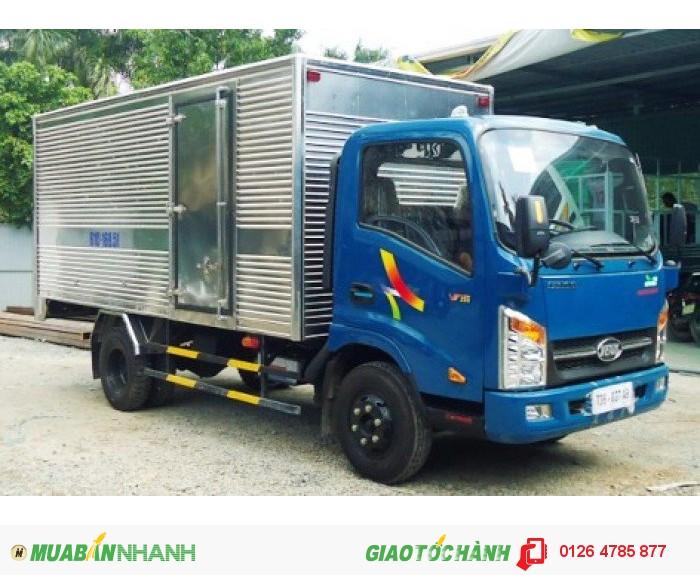 Bán xe tải veam 2.4 tấn VT252 động cơ Hyundai tiết kiệm nhiên liệu, giá rẻ.