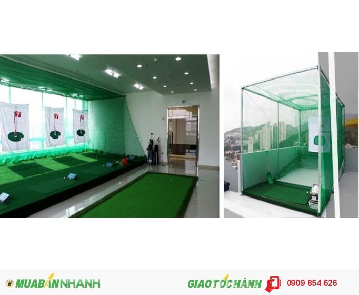 Phòng tập golf tại nhà, mini golf tại nhà1