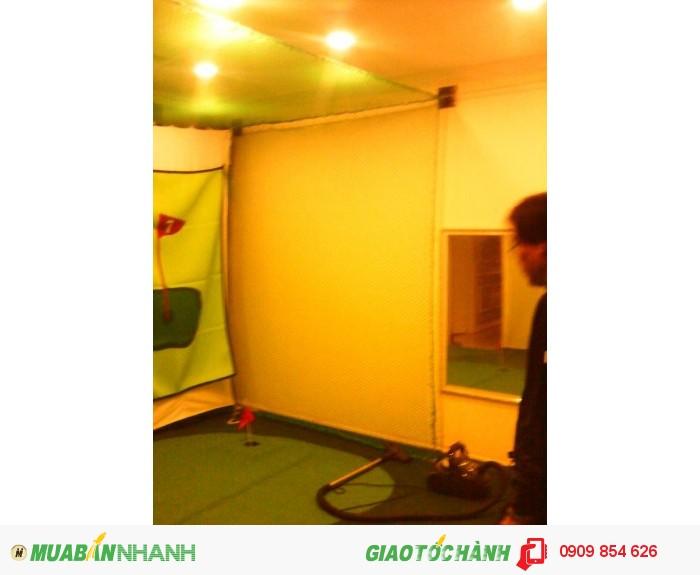 Phòng tập golf tại nhà, mini golf tại nhà2