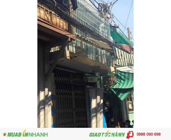 Bán nhà HXH đường Nghĩa Hòa, P6, Tân Bình. Diện tích 3,5x8m