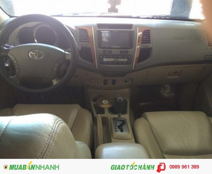 Bán Toyota Fortuner 2.7 4x4 AT 2011, 739 triệu 4