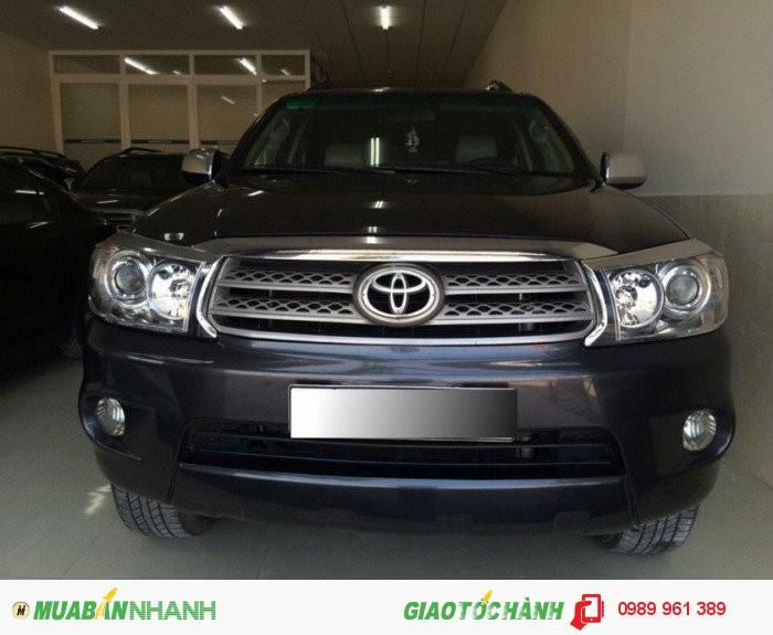 Bán Toyota Fortuner 2.7 4x4 AT 2011, 739 triệu 0