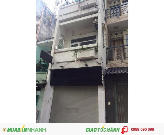 Bán nhà mặt tiền đường Tứ Hải, P6, Tân Bình. Diện tích 4x19m.