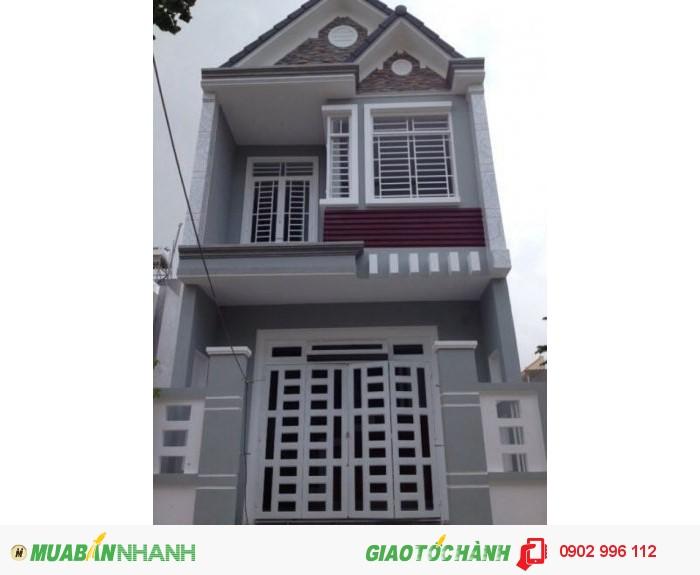 Nhà Mới Diện Tích - 106m2. Ngay Nguyễn Thị Tú. Dân Cư Hiện Hữu. Sổ Hồng