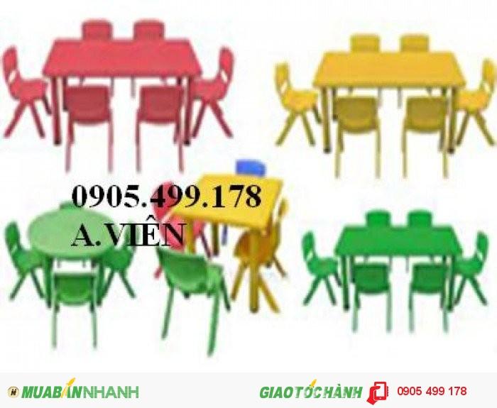 bàn ghế mầm non nhập khẩu2