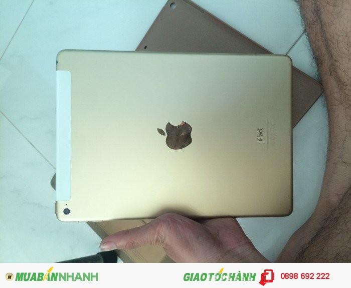 Ipad air 2 16GB WIFI màu gold, máy đẹp leng keng