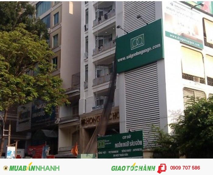 Bán khách sạn MT Lý Chính Thắng 4,25x25m, lửng, 4 tầng, 17 phòng, giá tốt