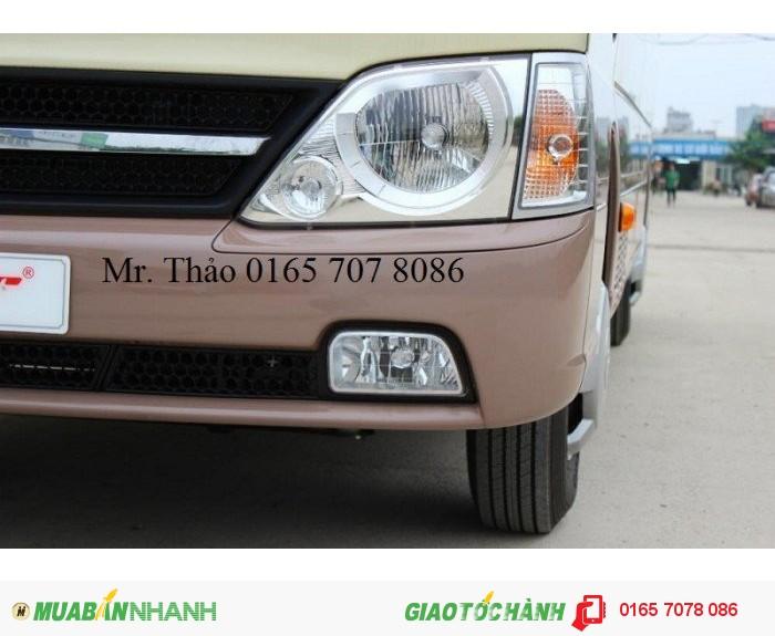 Bán Xe County Đồng Vàng, Nội ngoại thất Hiện đại, sang trọng, nhập khẩu từ Hyundai chính hãng.