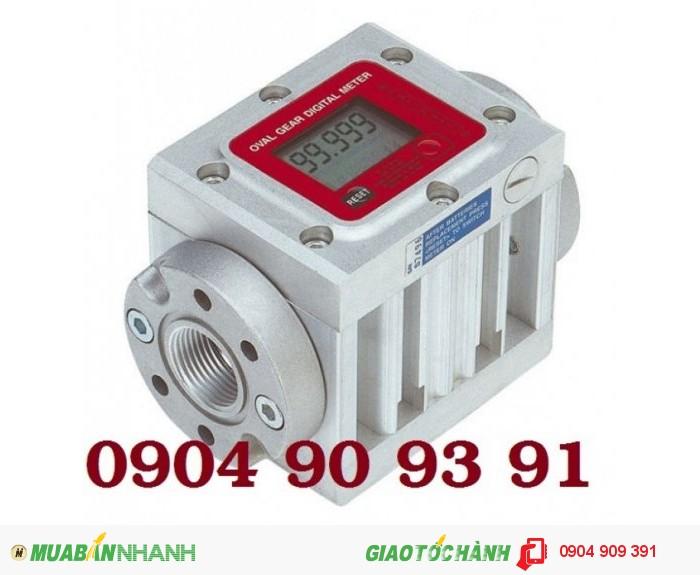Đồng hồ đo dầu K600/4,đồng hồ đo dầu điện tử,đồng hồ điện tử đo dầu,đồng hồ đo xăng dầu