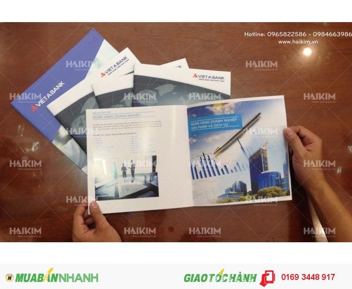 Thiết kế catalogue, thiết kế brochure, thiết kế tờ gấp giá rẻ tại Hà Nội