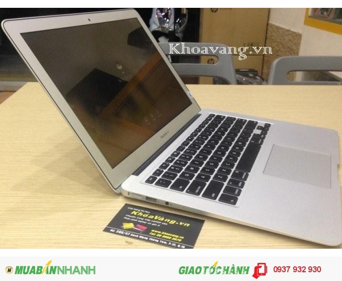 Macbook Air 13 inch Core i7 | Chip vi xử lý CPU Core i7 4CPU 1.7GHz up to 3.3Ghz xử lý rất nhanh, mát, tiết kiệm pin.