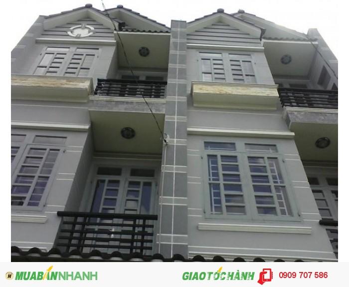 Bán nhà mặt tiền đường gần Lê Văn Sỹ 8,5x23m, 2 lầu, giá tốt.