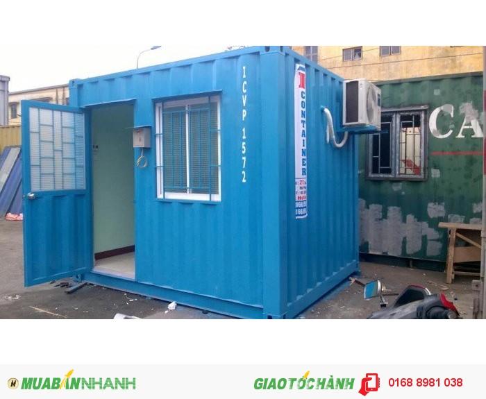 Cho thuê container 10 feet làm phòng bảo vệ