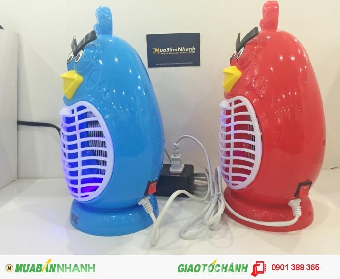 - Thiết kế nhỏ gọn, đẹp mắt, đèn bắt muỗi Magic Home Angry Bird giúp bảo vệ...