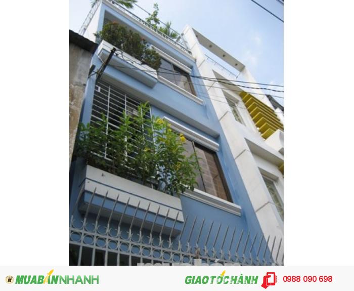 Bán nhà hẻm 3m Lê Lai, phường 12, quận Tân Bình.