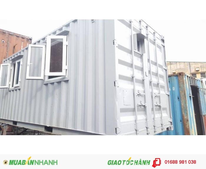 Bán container văn phòng 20 feet  độc đáo với nhiều tính năng vượt trội
