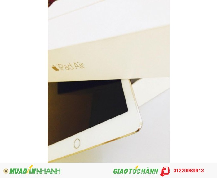 iPad Air 2 64Gb 3G Wifi - Gold  - FULLBOX- Mới 99.9% - Leng Keng - Không 1 vết trầy - Zin A