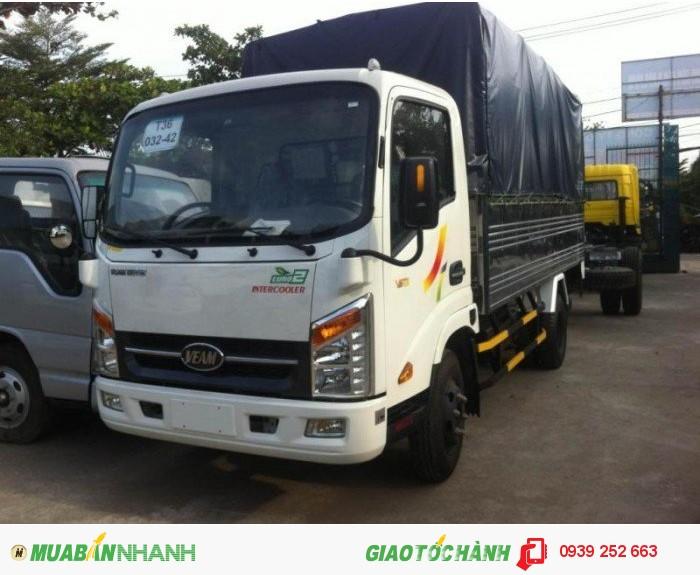 Xe Tải Veam 2 tấn 4, dòng veam VT252 mới