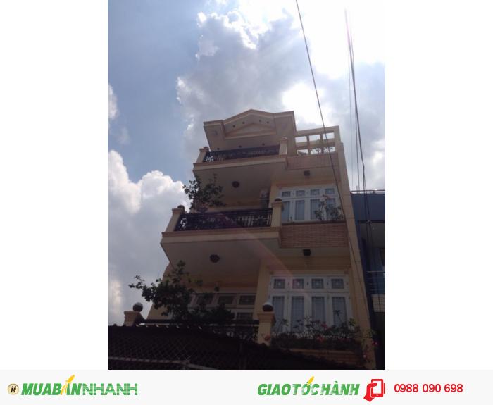 Bán nhà mặt tiền Phan Tây Hồ, P 7, Q Phú Nhuận.Diện tích 7x15m
